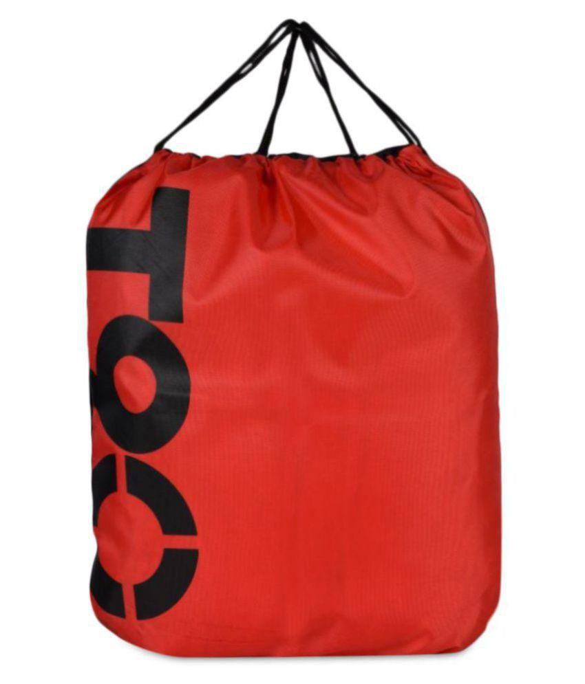 Loverlobby Red Medium Polyester Gym Bag