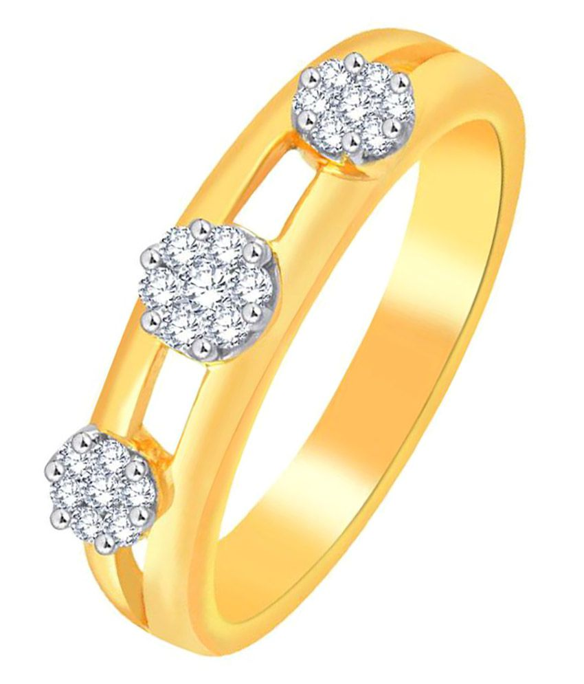 Nirvana 18k Yellow Gold Diamond Ring