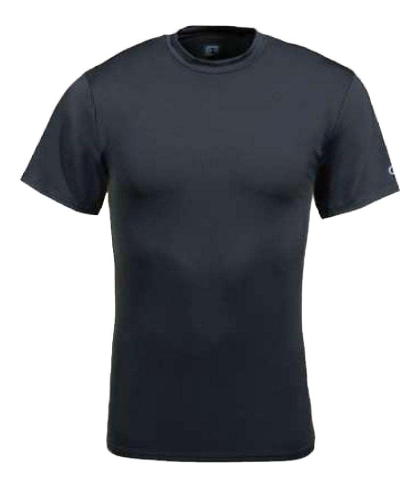 Madmax Compression Top Half Sleeves Plain Black
