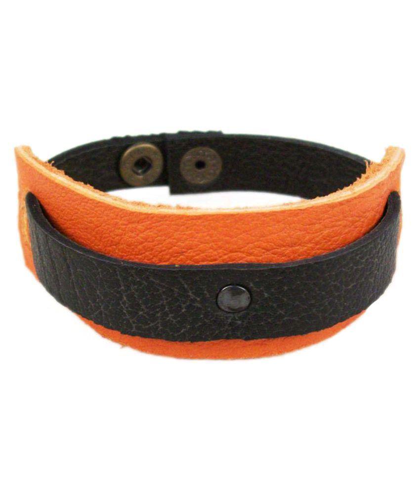 Shopper Zone Multicolour Faux Leather Bracelet