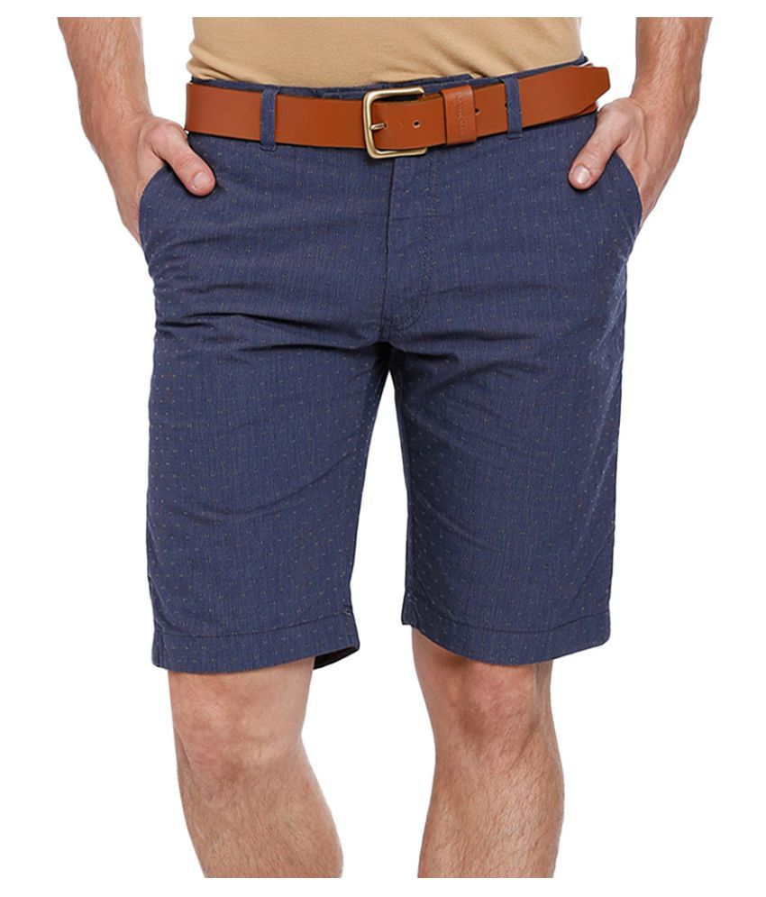Indian Terrain Navy Shorts - Buy Indian Terrain Navy ...