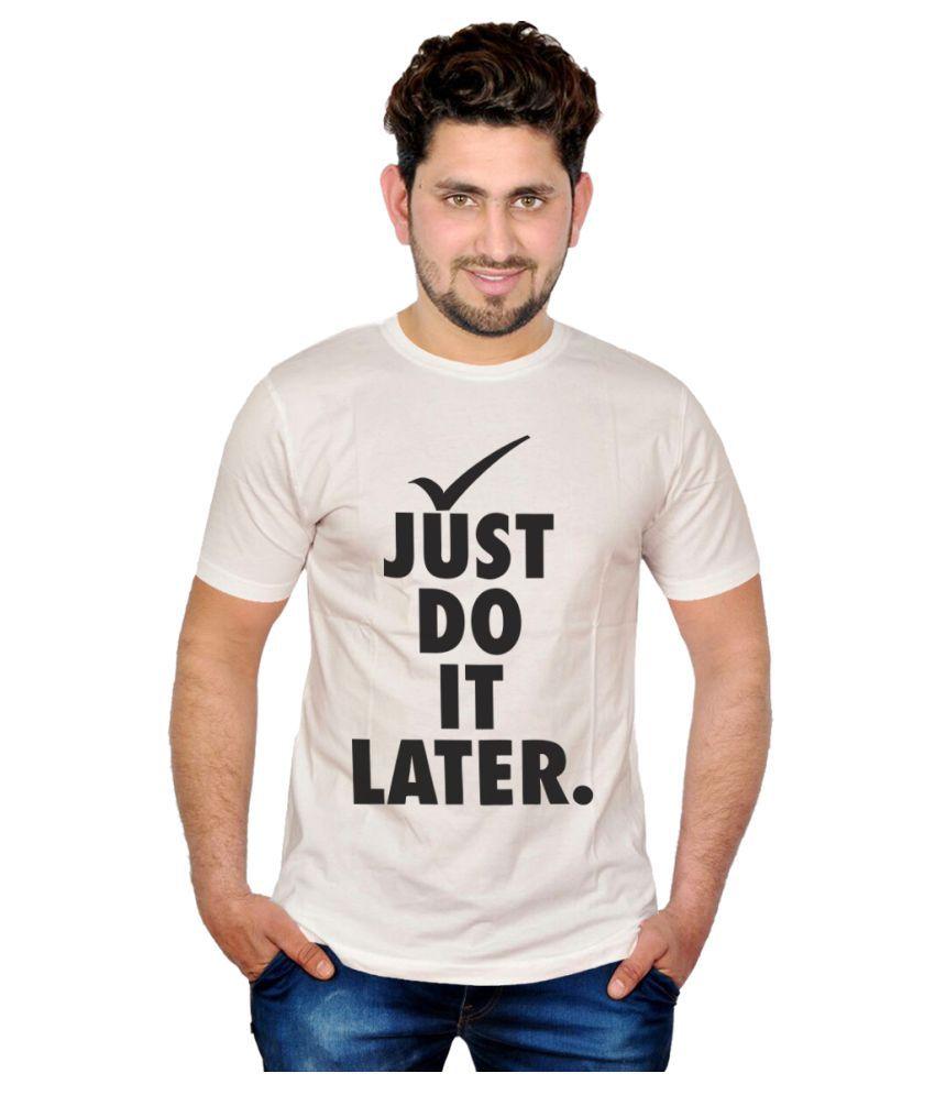 Inkit Beige Round T-Shirt