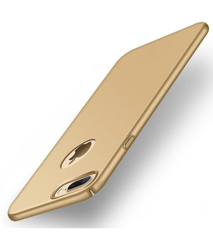 Apple iPhone 7 Plus Cover by Wow Imagine   Golden