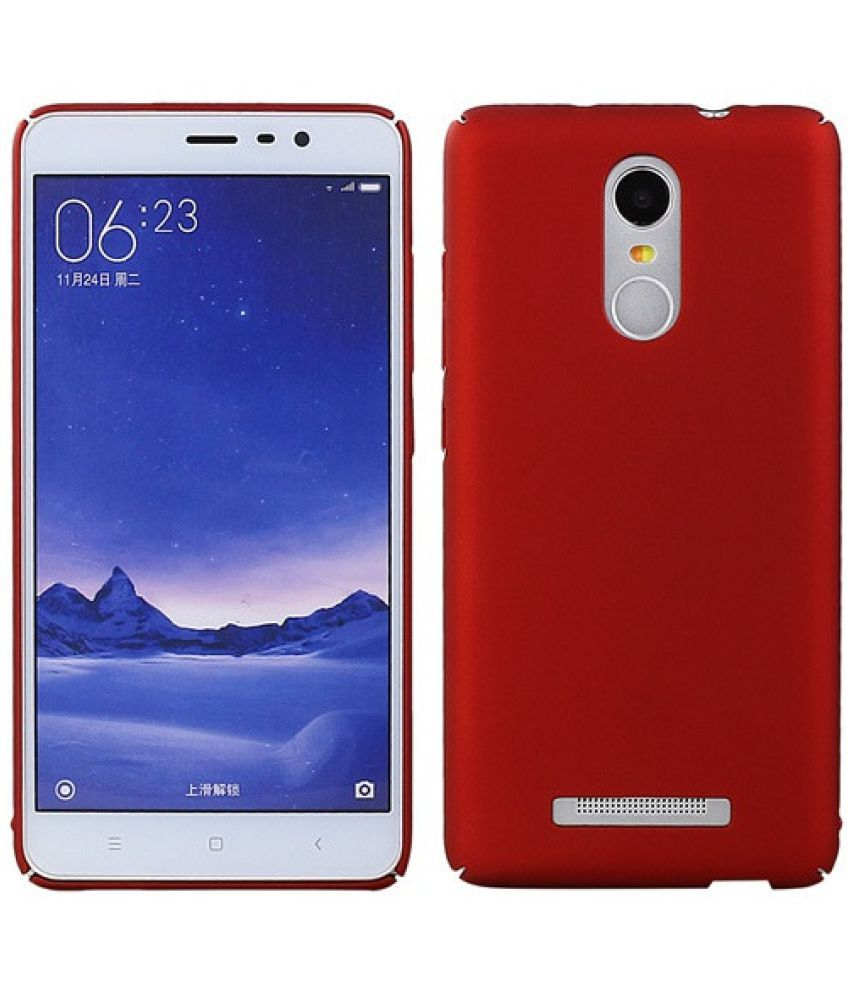 size 40 9c620 10eb2 Xiaomi Redmi Note 3 Cover by Wow Imagine - Red
