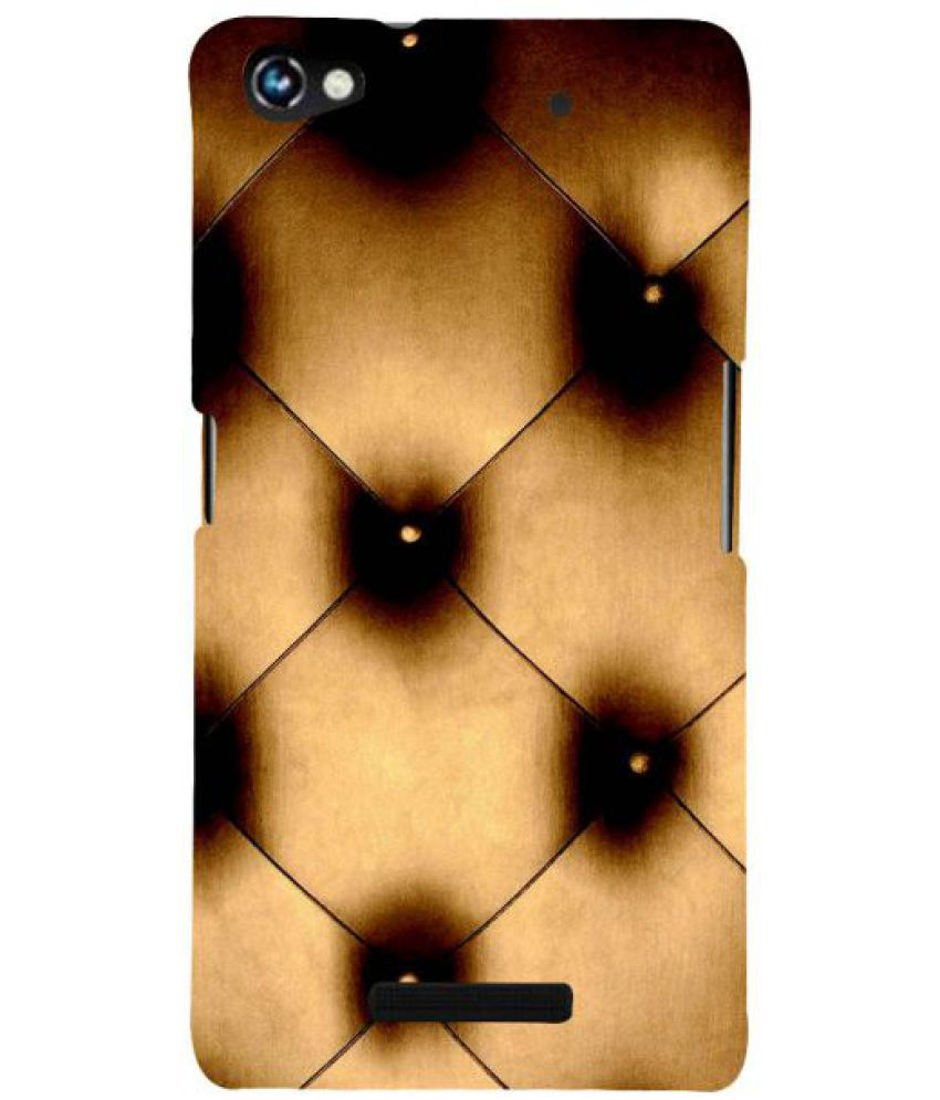 Micromax Canvas Hue 2 3D Back Covers By Fuson