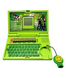 9Perfect Ben 10 English Learning Green Computer