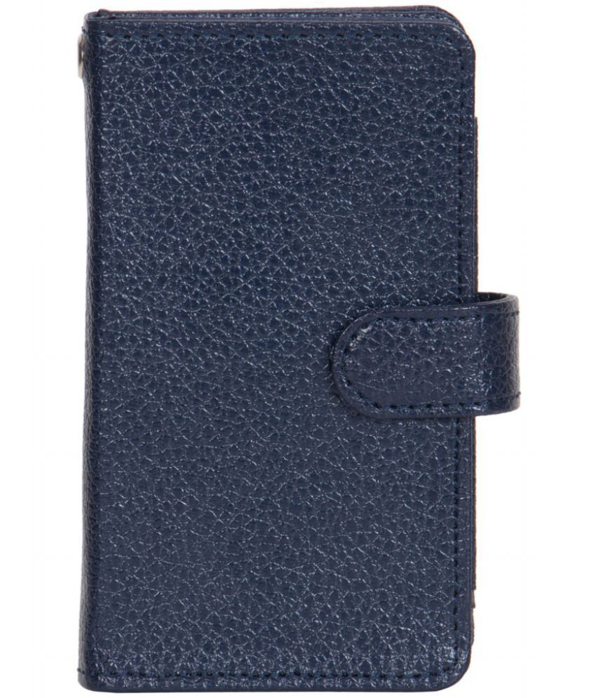 Karbonn A30 Holster Cover by Senzoni - Blue
