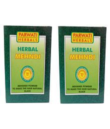 Khadi Herbal Black Mehandi Natural Henna 200 Gm Pack Of 2