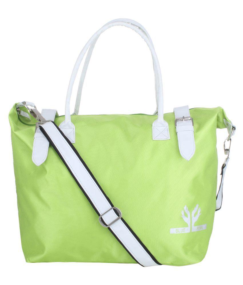 The Blue Pink Green Polyster Shoulder Bag