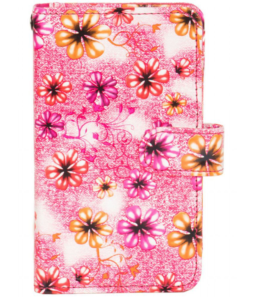 Micromax X085 Holster Cover by Senzoni - Pink