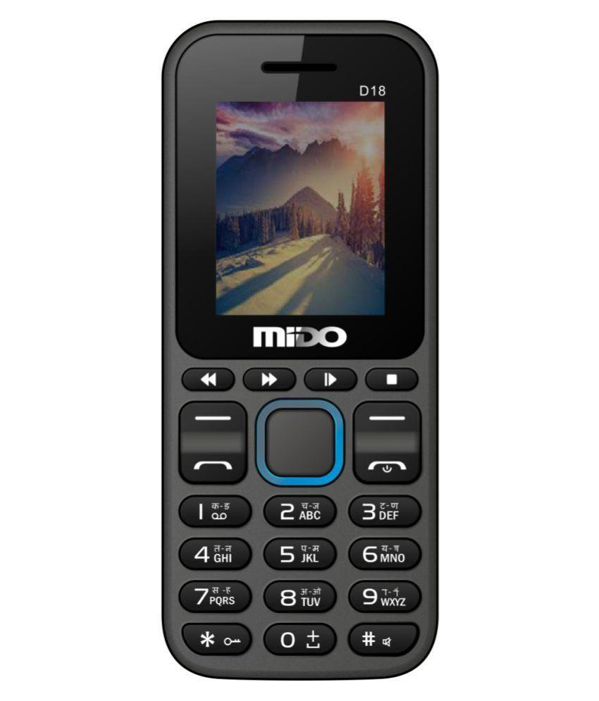 Mido D18 32 MB Black Blue