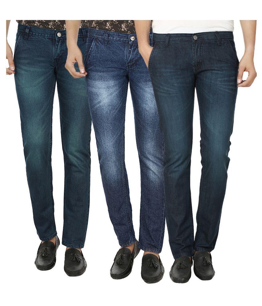Club Vintage Blue Slim Jeans