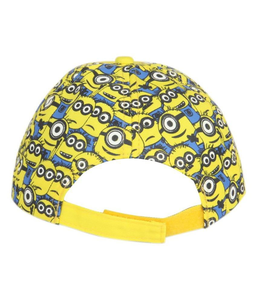 23bfa9c5ef8 ILU Cotton Yellow Minions Cap  Buy Online at Low Price in India ...