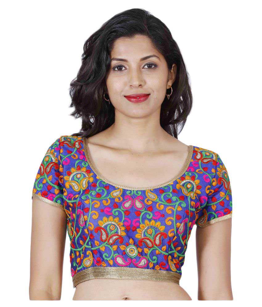 Splash TD Multicoloured Round Shape With Dori Blouse