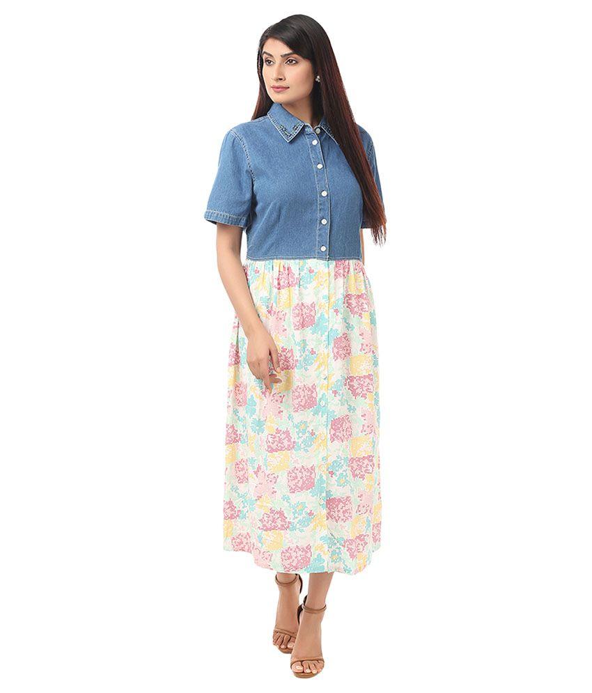 Eves Pret A Porter Denim Dresses