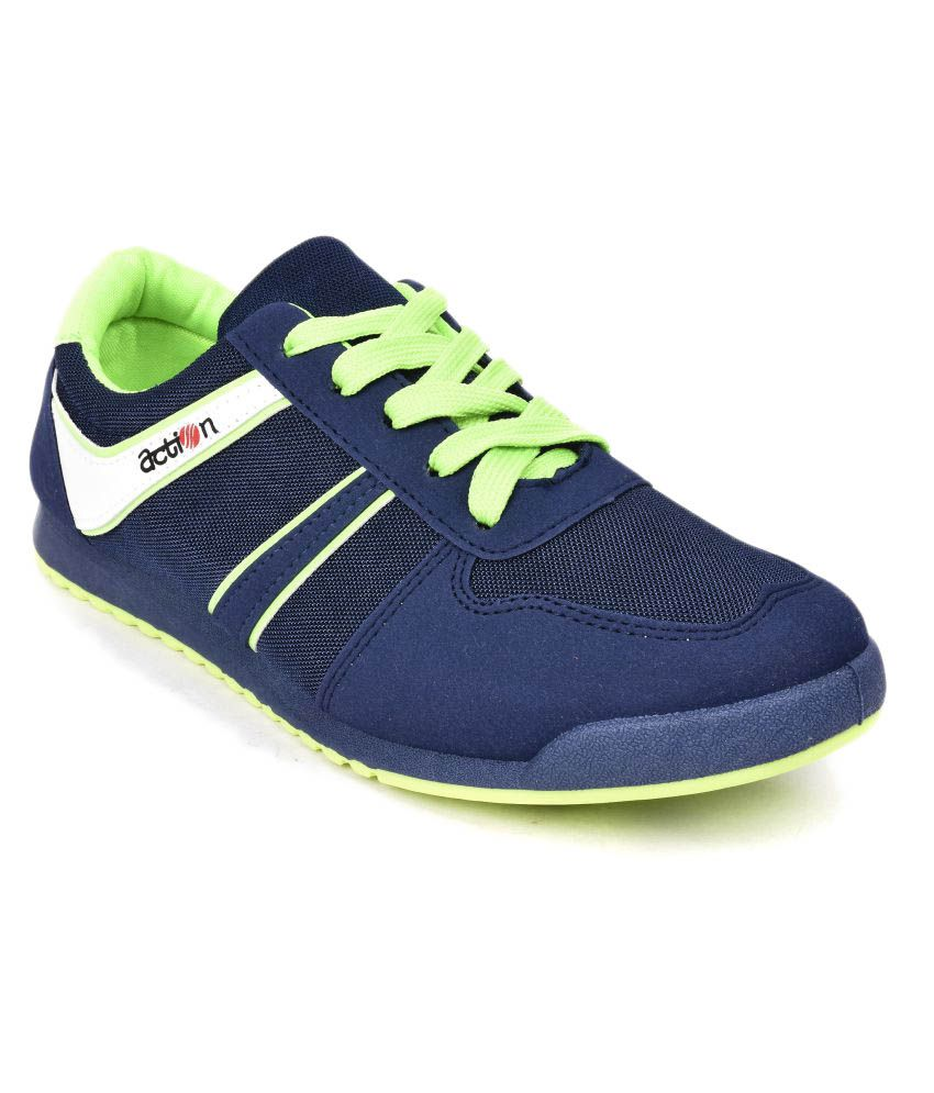 Action KMP-721 Navy Running Shoes