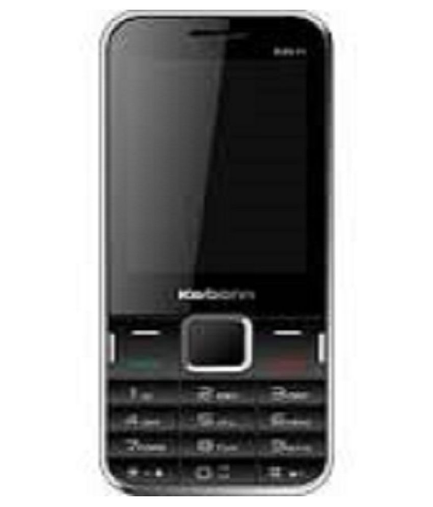 Karbonn K451 Power Blk Champ 256 MB Black