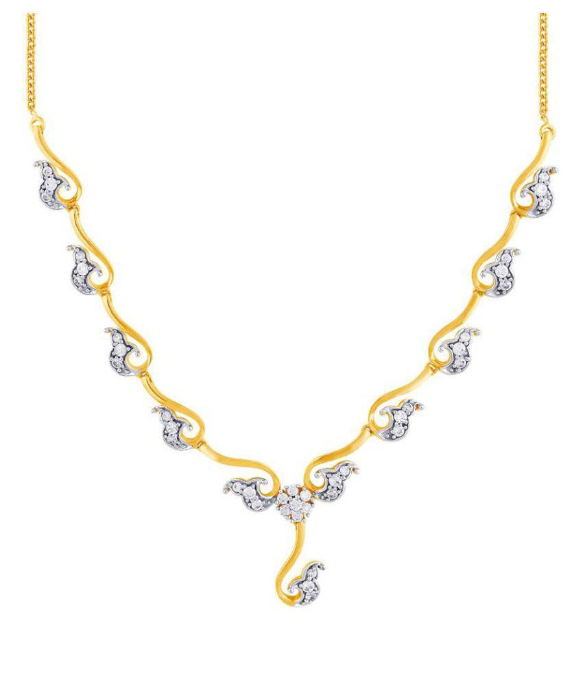 Gili 18k BIS Hallmarked Yellow Gold Necklace