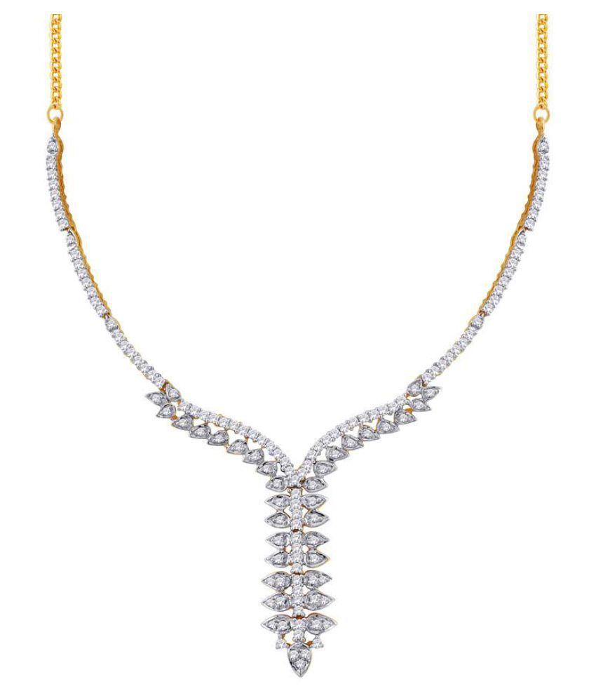 Sangini 18k BIS Hallmarked Yellow Gold Necklace