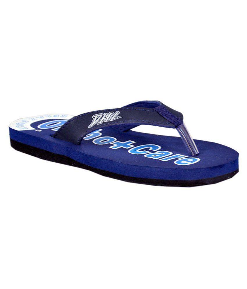 d3da94dbc76 Orthocare Blue Slippers Price in India- Buy Orthocare Blue Slippers Online  at Snapdeal