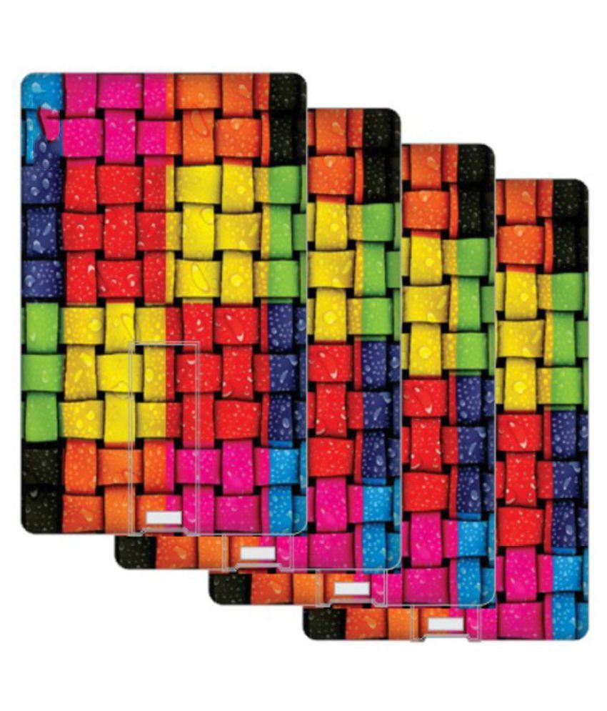 Printland  16GB USB 2.0 Fancy Pendrive Multicolor Set of 4