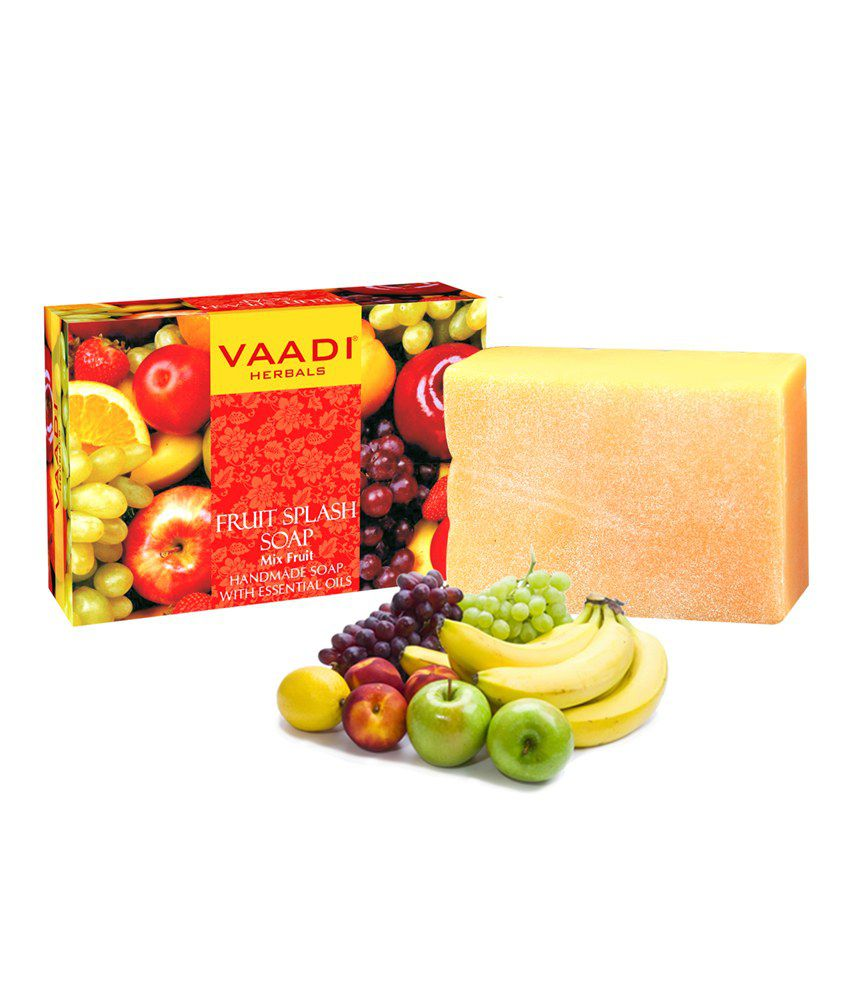 Fruit splash 2 - Vaadi Herbal Fruit Splash Soap With Mix Fruit Extracts