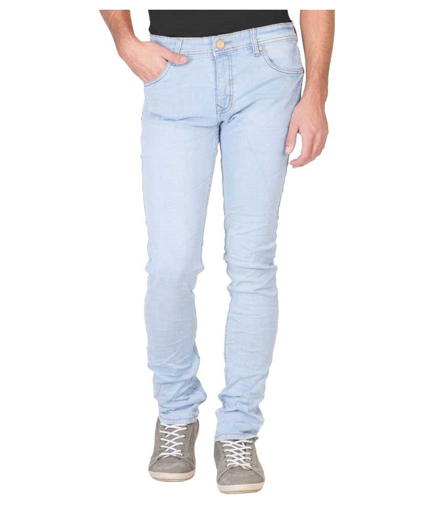 Krossstitch Light Blue Slim Jeans