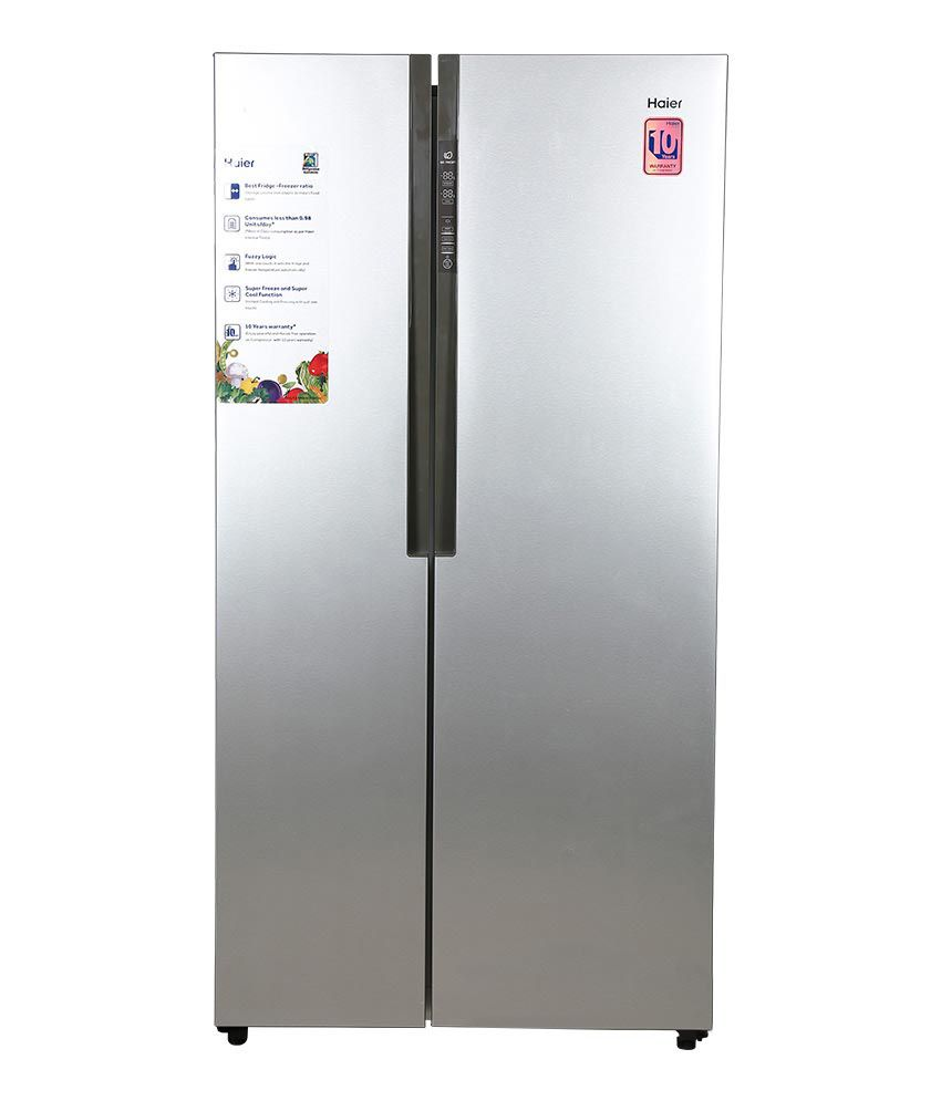 Haier 565 Ltr Hrf 618ss Side By Refrigerator Stainless Steel