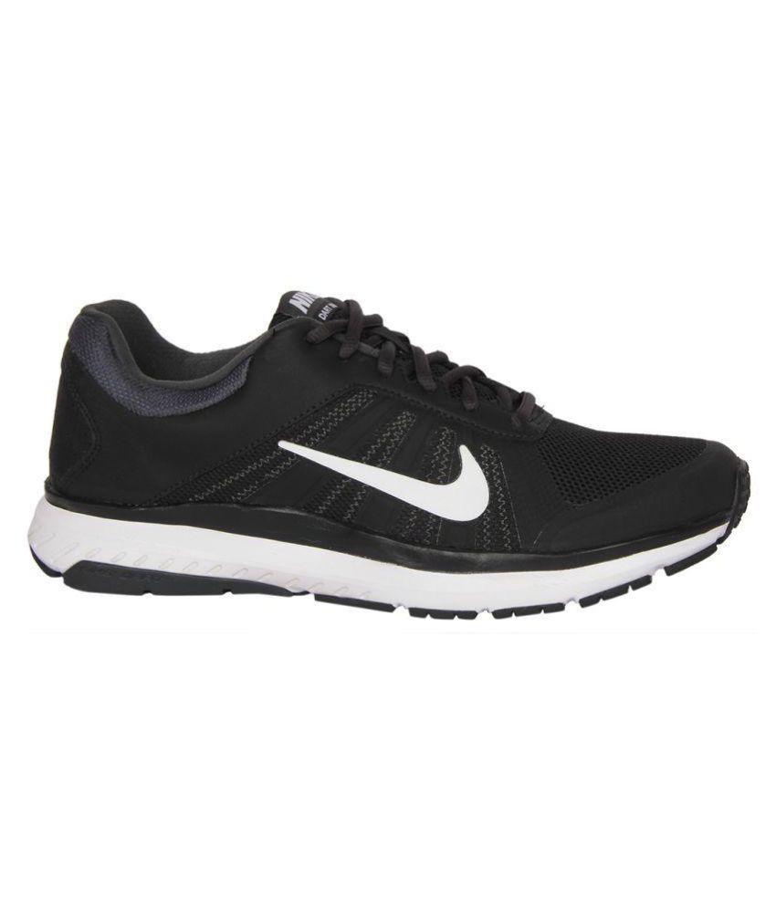 the best attitude e7c86 4411c Nike DART 12 MSL Black Running Shoes - Buy Nike DART 12 MSL Black ...