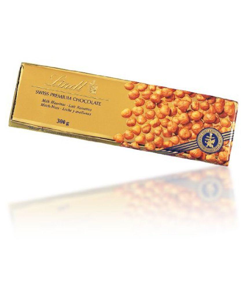Lindt Gold Bar, Hazelnut Dark Chocolate Chocolate 300 gm: Buy ...