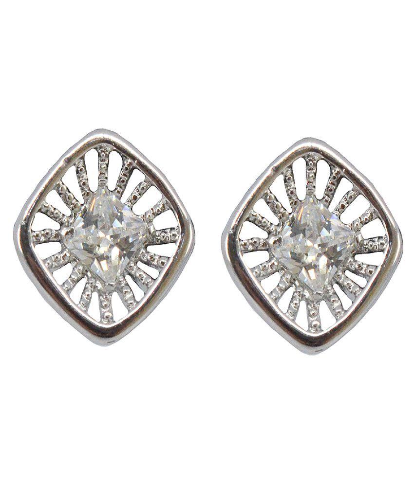 Saloni Fashion Jewellery Silver Stud Earrings