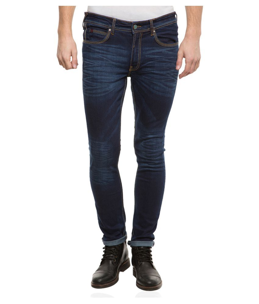 Locomotive Dark Blue Slim Jeans