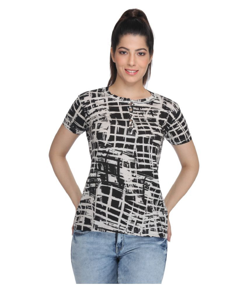 Fast N Fashion Cotton Regular Tops