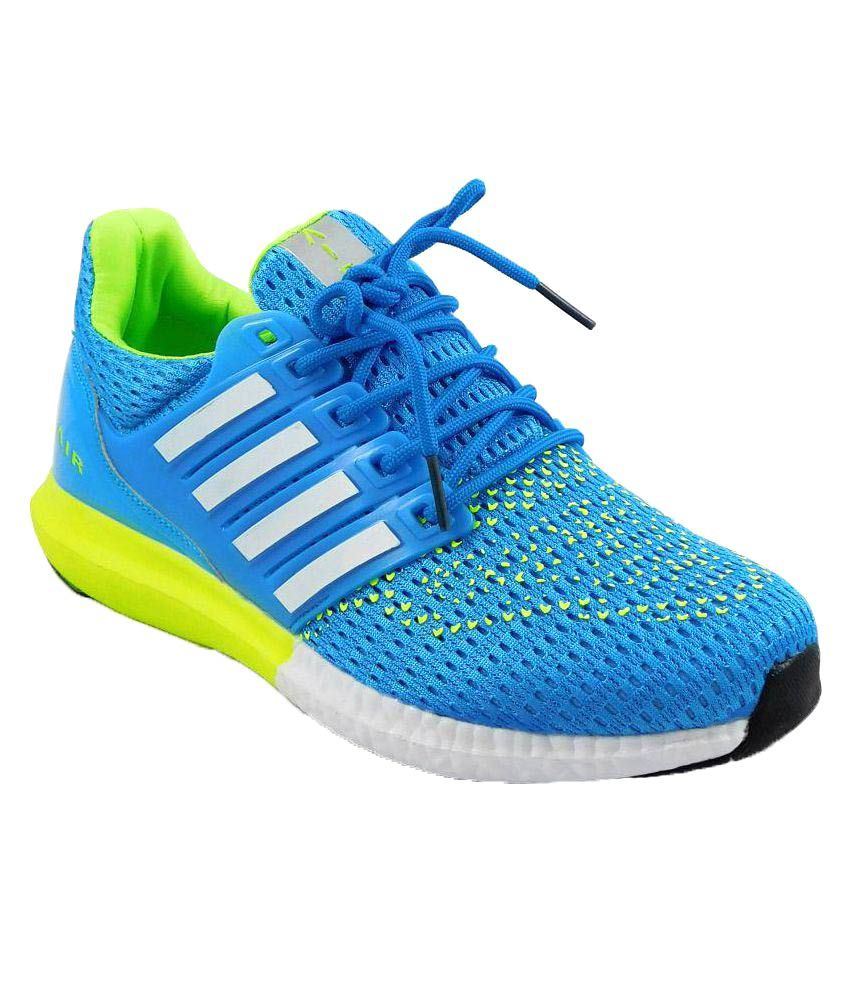 Air Sports Boost Running Shoes Blue