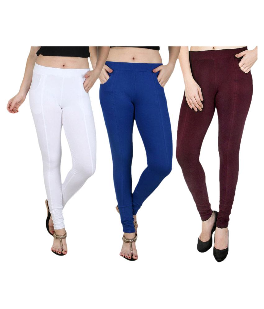 Baremoda Cotton Lycra Jeggings