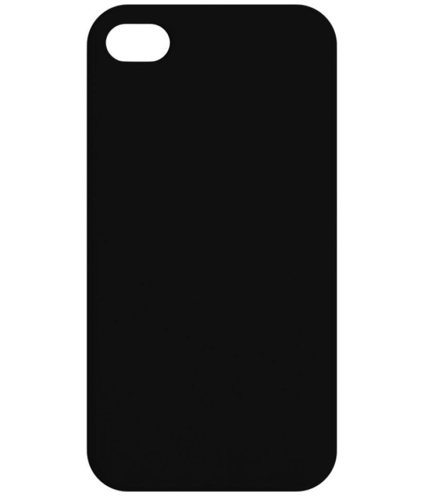 e384fe352c92c6 Apple iPhone 4S Cover by Inkdesi - Black - Plain Back Covers Online at Low  Prices