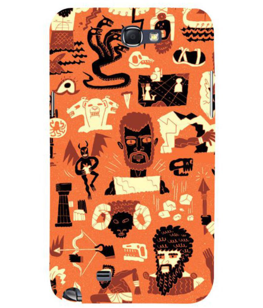 Samsung Galaxy Note 2 3D Back Covers By Fuson