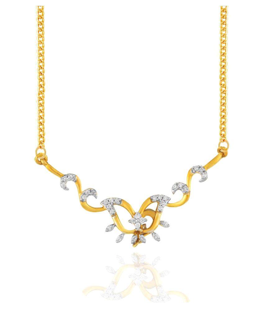 Asmi 18k Yellow Gold Mangalsutra