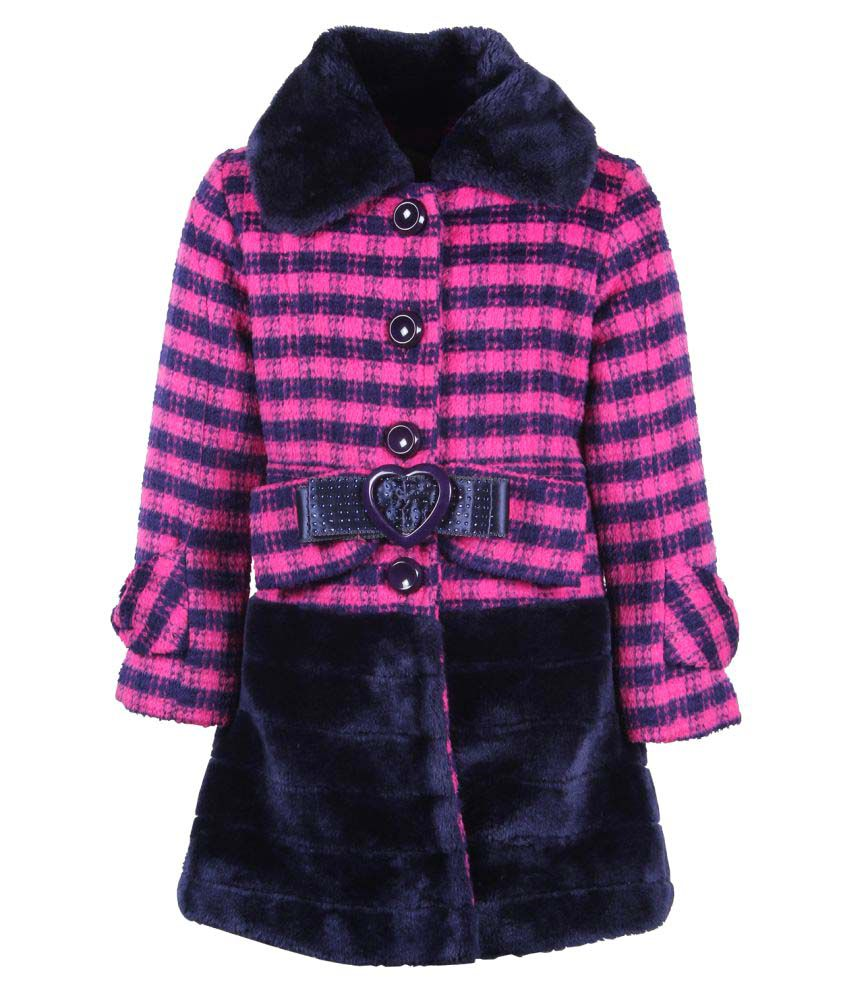 Cutecumber Multicolor Knit Coat