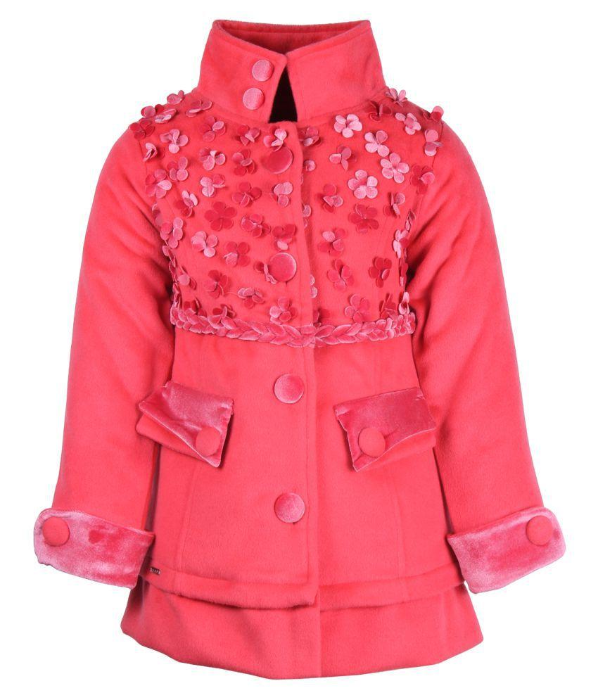 Cutecumber Pink Polyester Girls Jacket