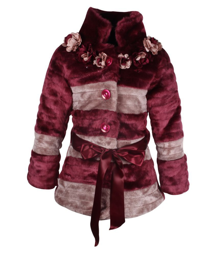 Cutecumber Purple Polyester Girls Jacket