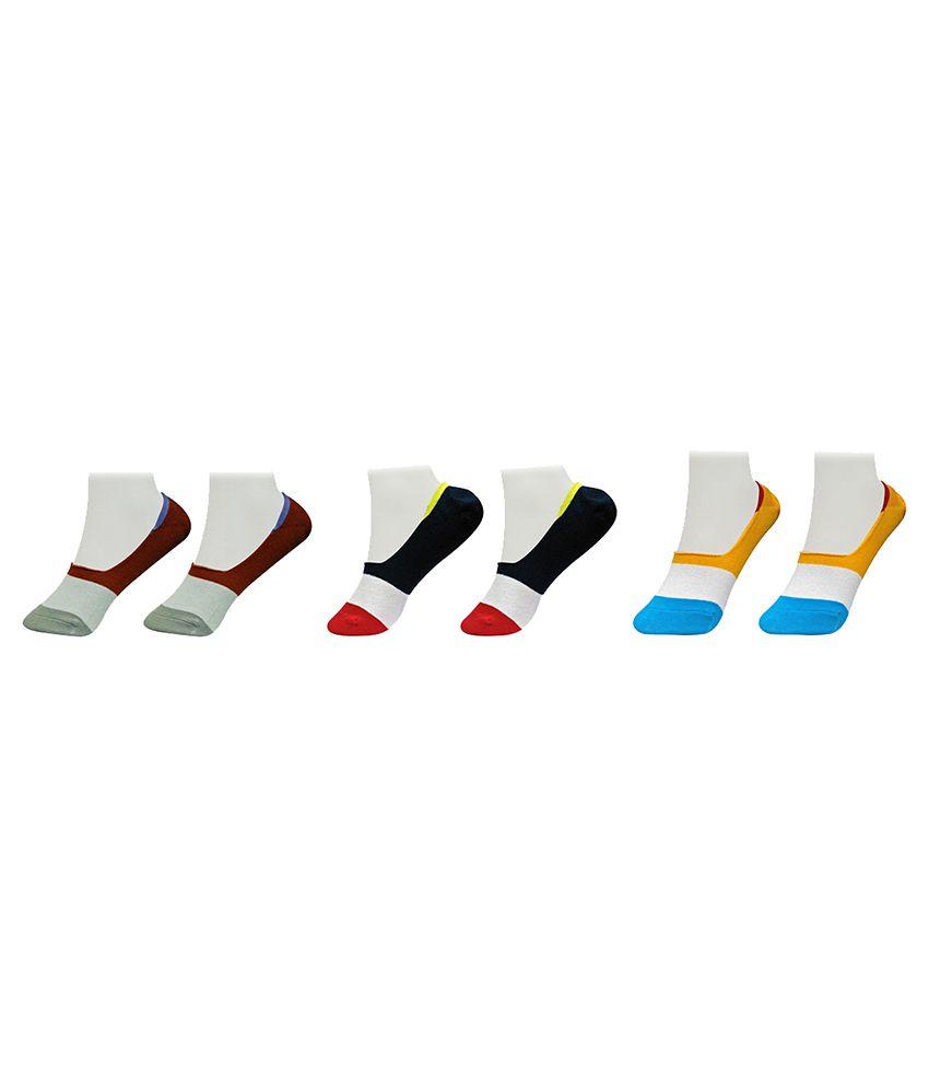 Gold Dust Multicolor Socks - Pair of 3