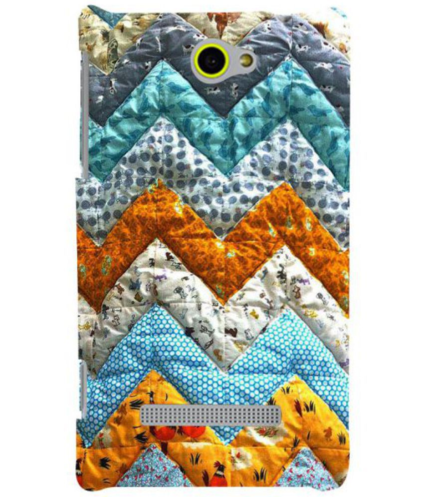 HTC Window Phone 8S 3D Back Covers By Fuson
