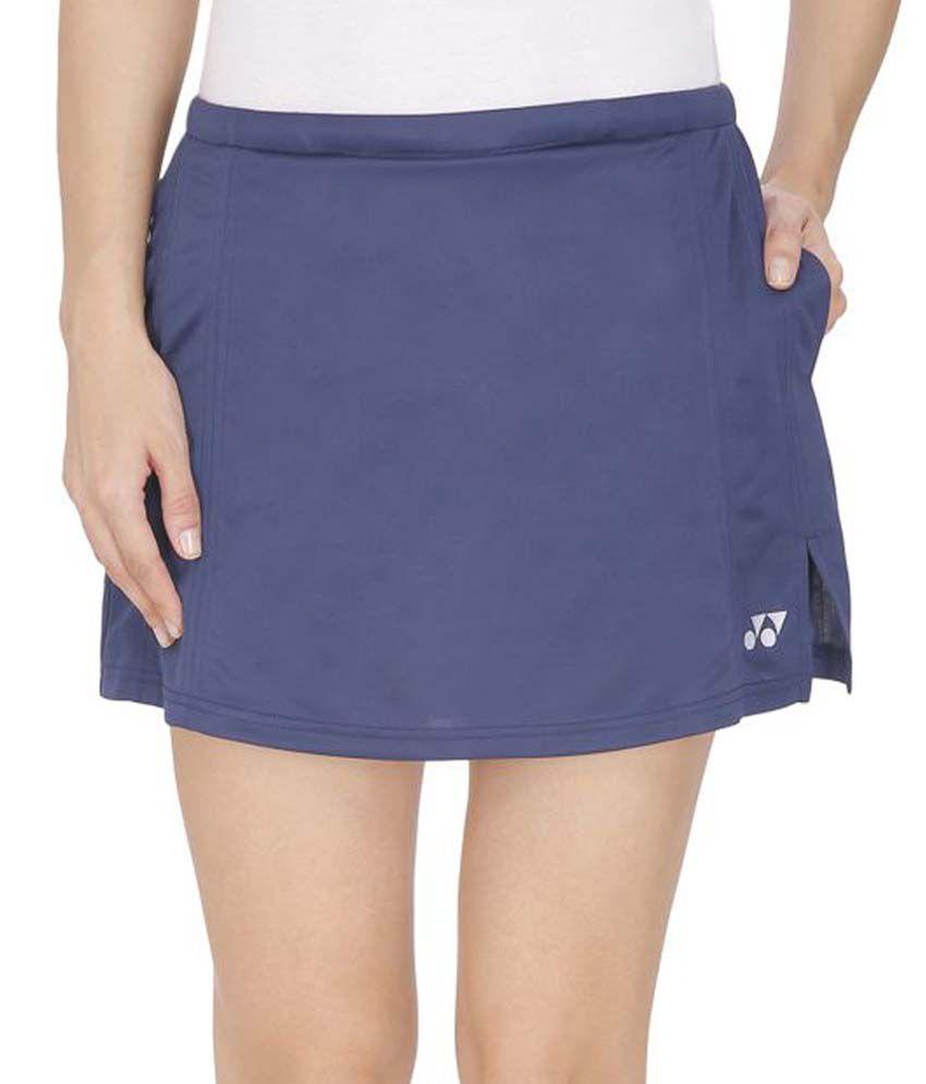 Yonex Blue Polyester Skirt