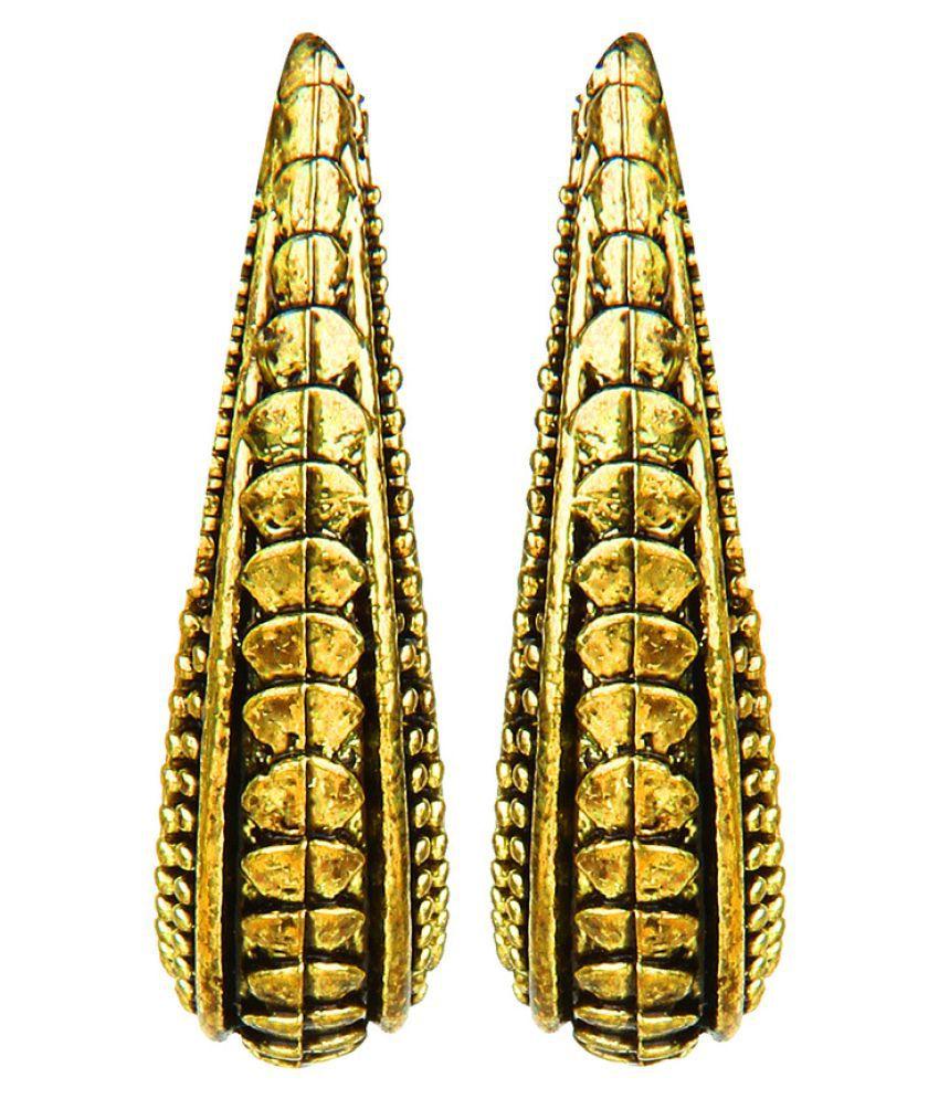 Moedbuille Golden Hanging Earrings