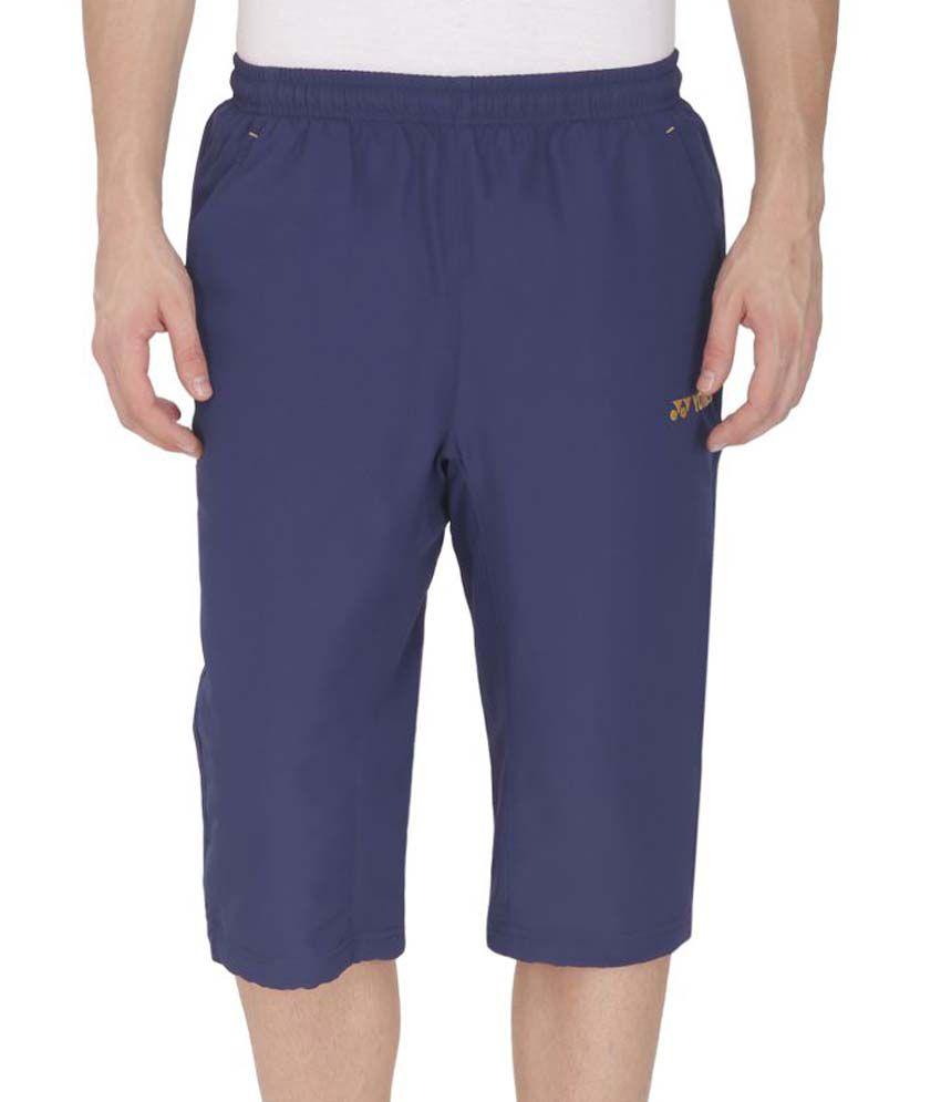 Yonex Blue Polyester Bottomwear