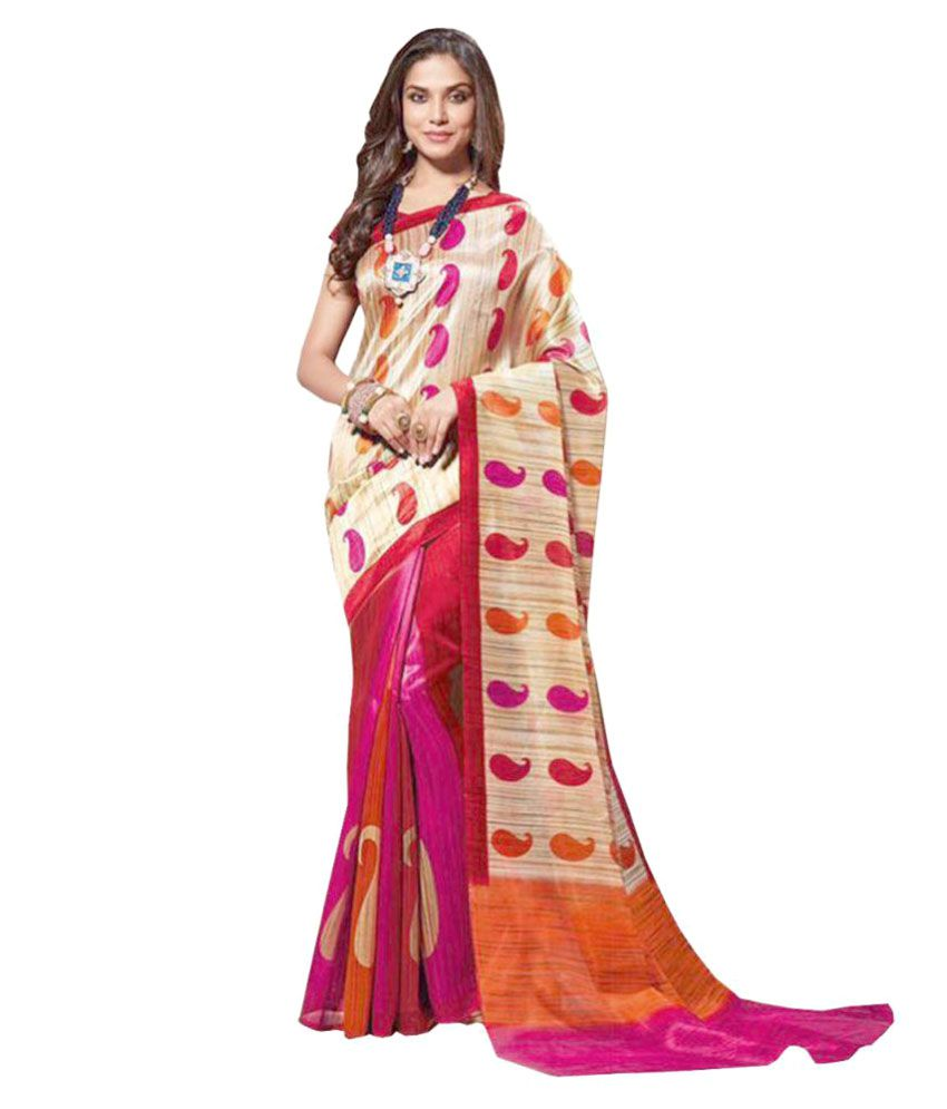 b635ea4dd76e42 Dressy Multicoloured Bhagalpuri Silk Saree - Buy Dressy Multicoloured  Bhagalpuri Silk Saree Online at Low Price - Snapdeal.com