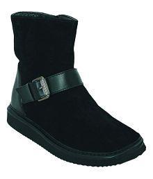 La Briza Black Ankle Length UGG Boots