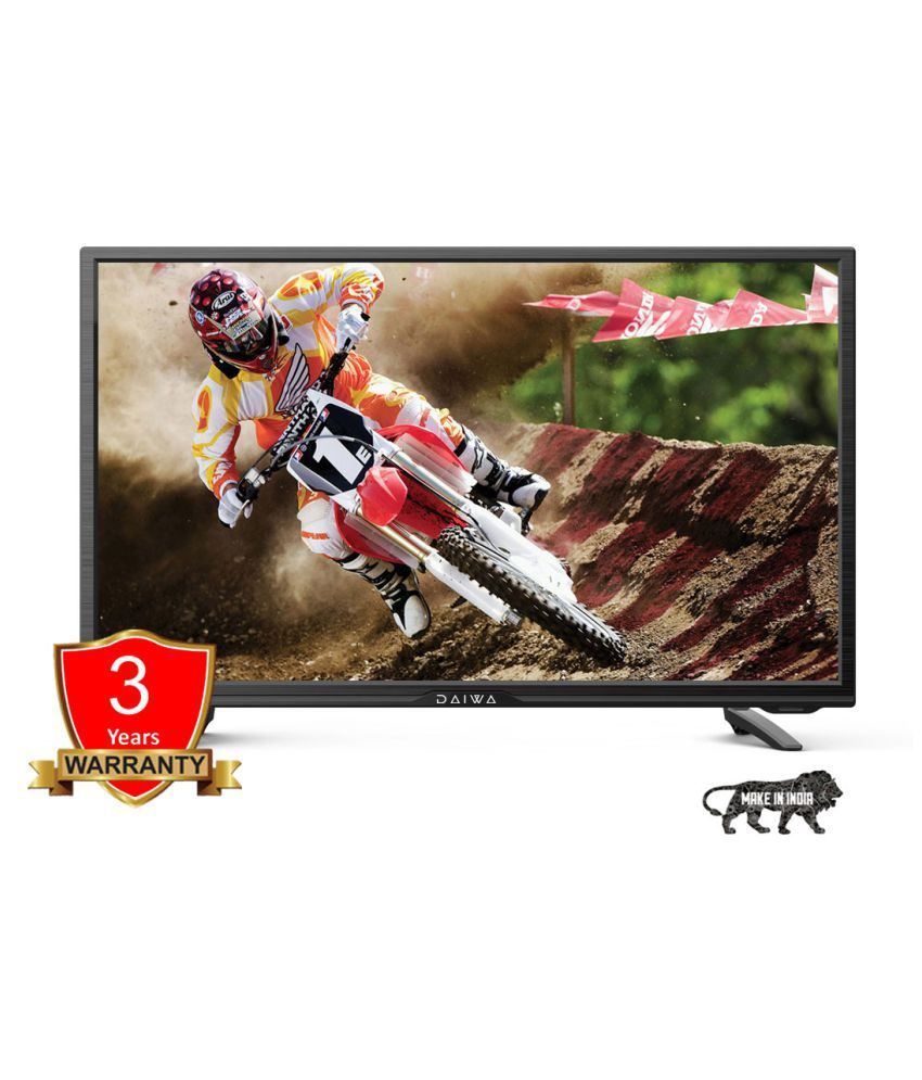 Daiwa D32D2 80 cm ( 32 ) HD Ready (HDR) LED Television With 1+2 Year Extended Warranty