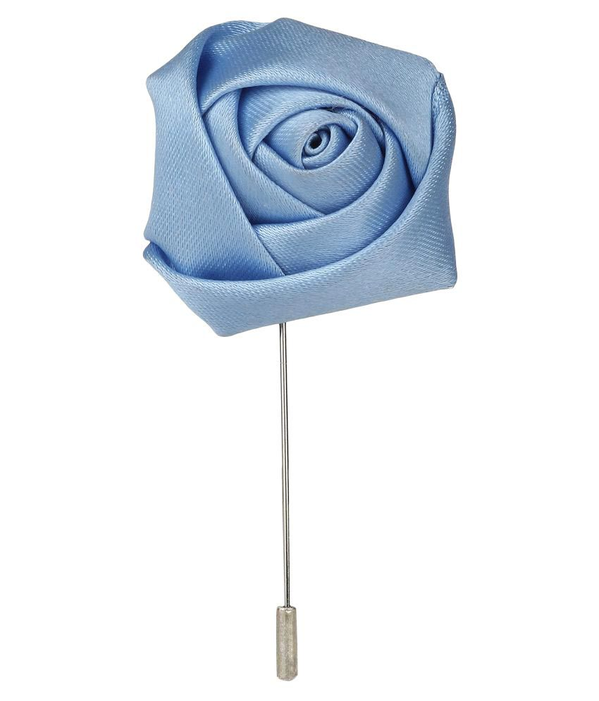 AJ Dezines Handmade Flower Shaped Party Wear Brooch With Lapel Pin